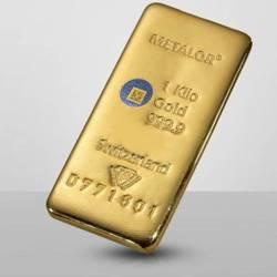 Duże Sztabki Złota