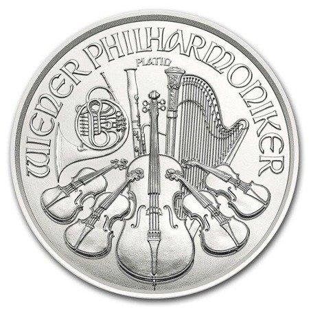 Platynowa Moneta Wiedeński Filharmonik 1 uncja 24h