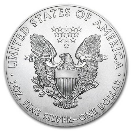 Srebrna Moneta Amerykański Orzeł 1 uncja