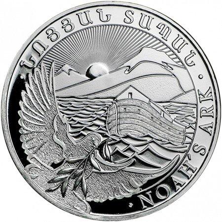 Srebrna Moneta Arka Noego 1 uncja 24h