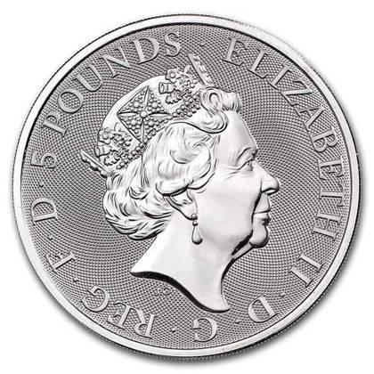 Srebrna Moneta Bestie Królowej: Completer Coin 2 uncje NOWOŚĆ
