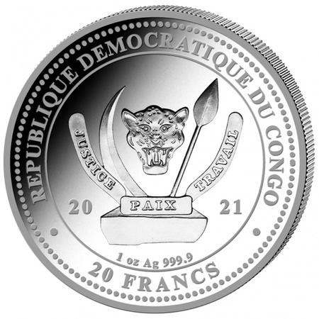 Srebrna Moneta Bielik Amerykański 1 uncja 24h