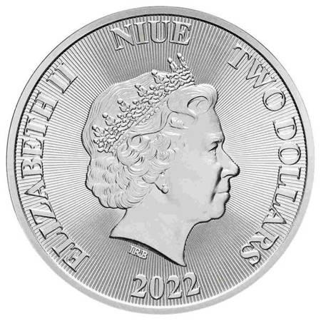 Srebrna Moneta Drzewo Życia 1 uncja 24h LIMITOWANA