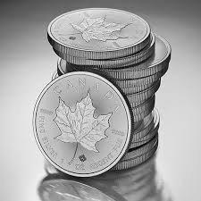 Srebrna Moneta Kanadyjski Liść Klonowy 1 uncja