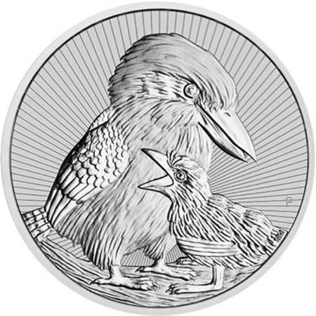 Srebrna Moneta Kookaburra Matka i Dziecko 2 uncje 24h