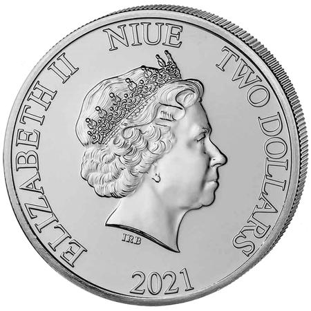 Srebrna Moneta Król Lew - Hakuna Matata 1 uncja 24h