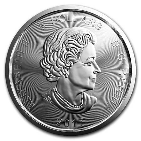 Srebrna Moneta Ryś 1 uncja 2017r 24h