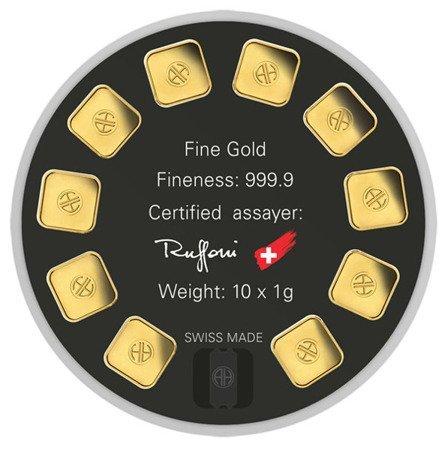 Sztabka Złota Gold Seed 10x1g