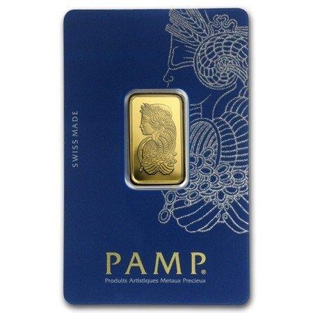 Sztabka Złota PAMP CertiCard 10g