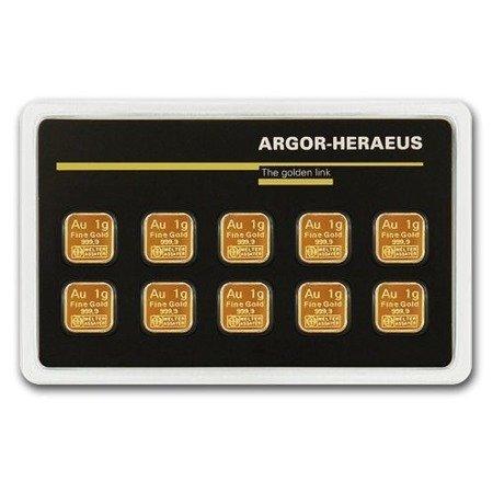 Sztabki Złota MultiCard 10x1g 24h