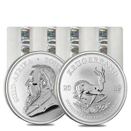 Zestaw Srebrna Moneta Krugerrand 100x1oz