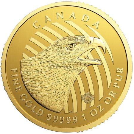 Zew Natury Orzeł Złota Moneta 1 uncja 24h
