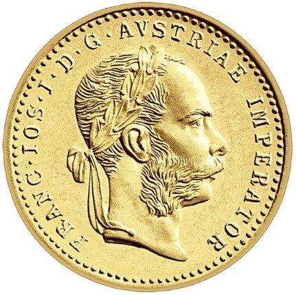 Złota Moneta 1 Dukat Austriacki Nowe Bicie 3.49g 24h