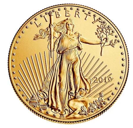 Złota Moneta Amerykański Orzeł 1 uncja