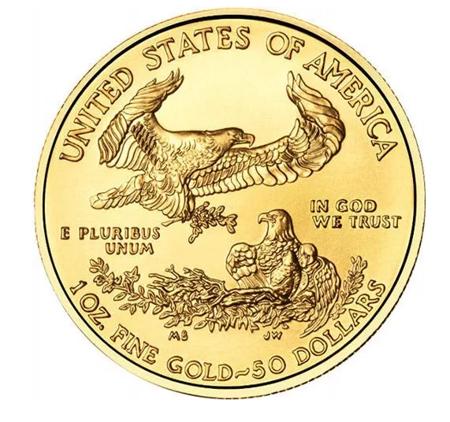Złota Moneta Amerykański Orzeł 1 uncja 24h