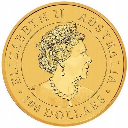 Złota Moneta Australijski Emu 1 uncja 2019r 24h