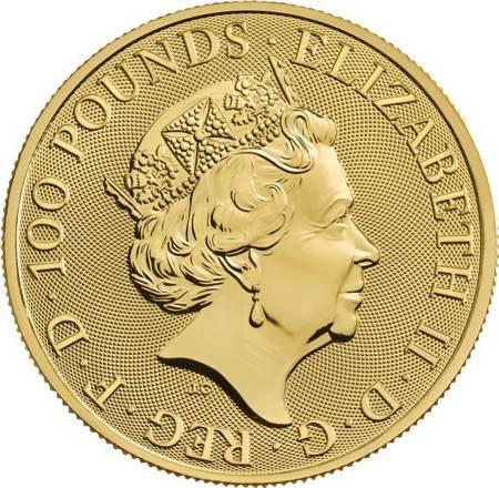 Złota Moneta Bestie Królowej: Completer Coin 1 uncja 24h