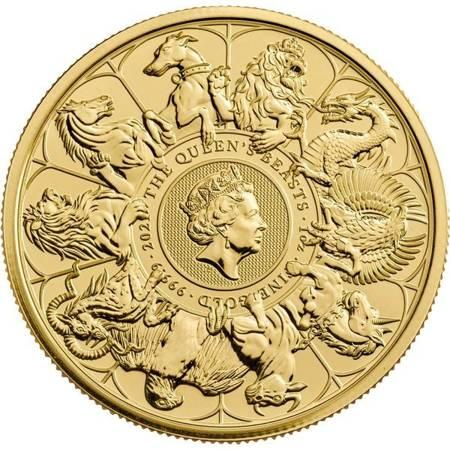 Złota Moneta Bestie Królowej: Completer Coin 1 uncja