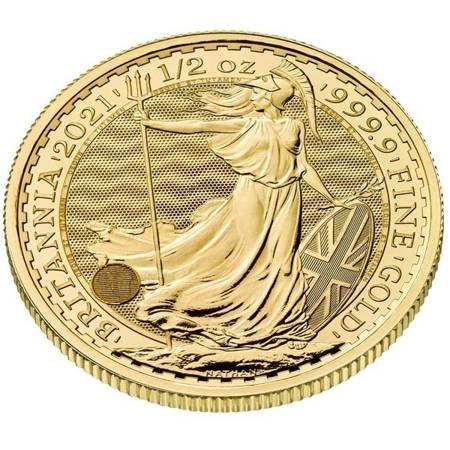 Złota Moneta Britannia 1/2 uncji
