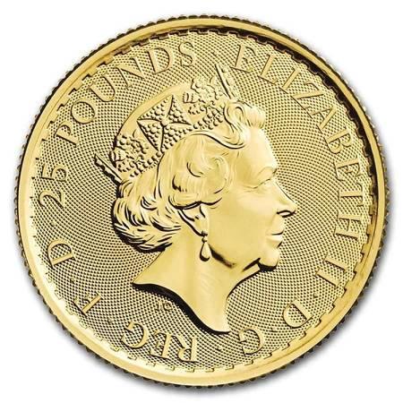 Złota Moneta Britannia 1/4 uncji