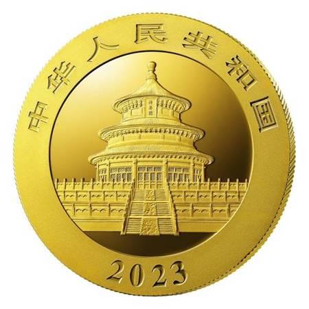 Złota Moneta Chińska Panda 3g