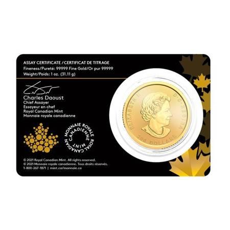 Złota Moneta Gorączka Złota Klondike 1 uncja 24h