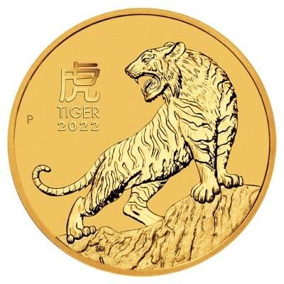 Złota Moneta Rok Tygrysa 1 uncja
