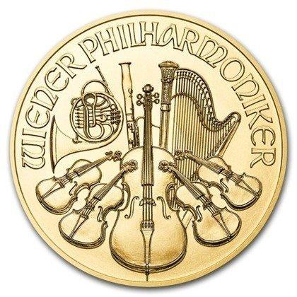 Złota Moneta Wiedeński Filharmonik 1/2 uncji 24h