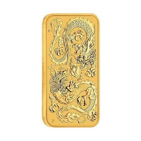 Złota Sztabko-Moneta Australijski Smok 1 uncja 24h